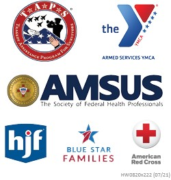 List of company logos involved with the Corporate Philanthropy Program